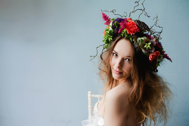 Why It Works Wednesday Floral Crowns Bridal Headpieces