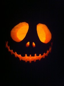 Yes, I carved jack'o'lanterns again ;p