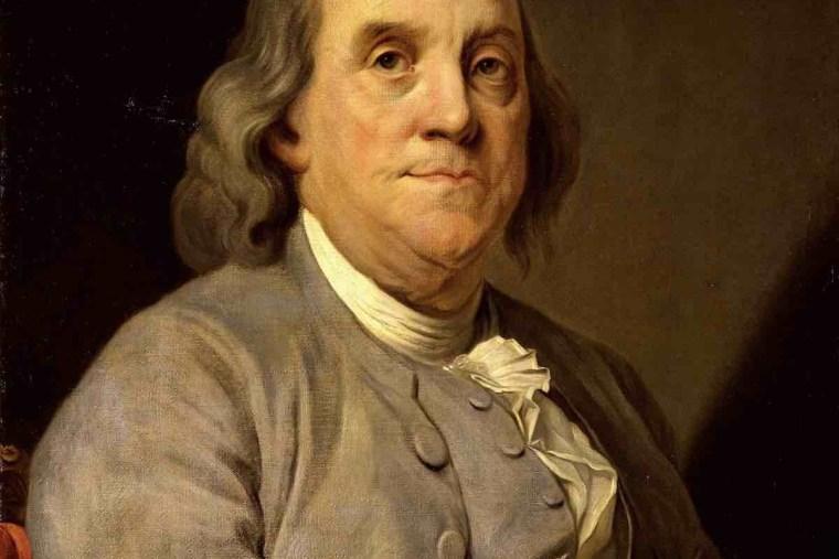 Franklin gilt als Erfinder. Für ihn war Investition in Wissen das wichtigste.