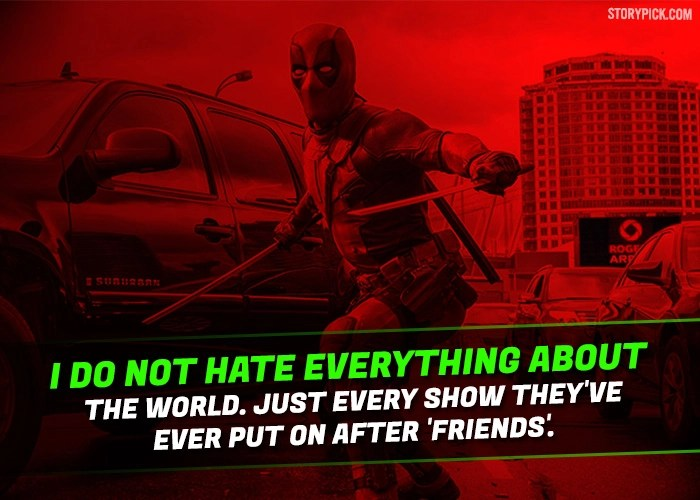 15 Epic Quotes By Deadpool That Prove He Is The Most