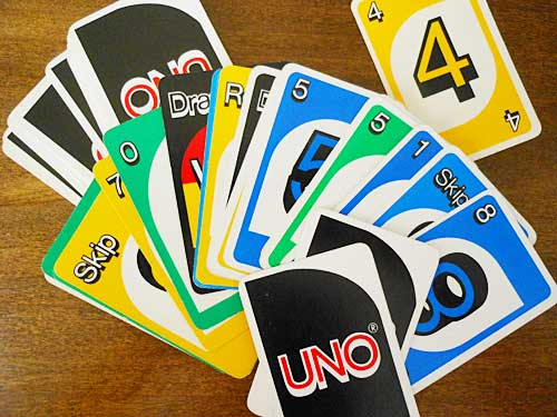 Retro Uno Cards Storypiece