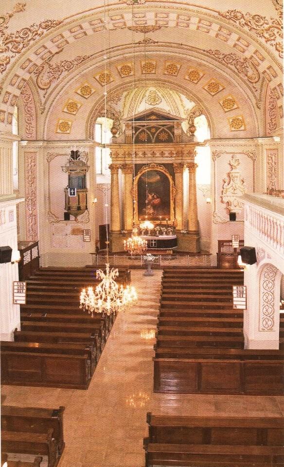 Vnútro kovačického kostola / Foto: Ján Chrťan