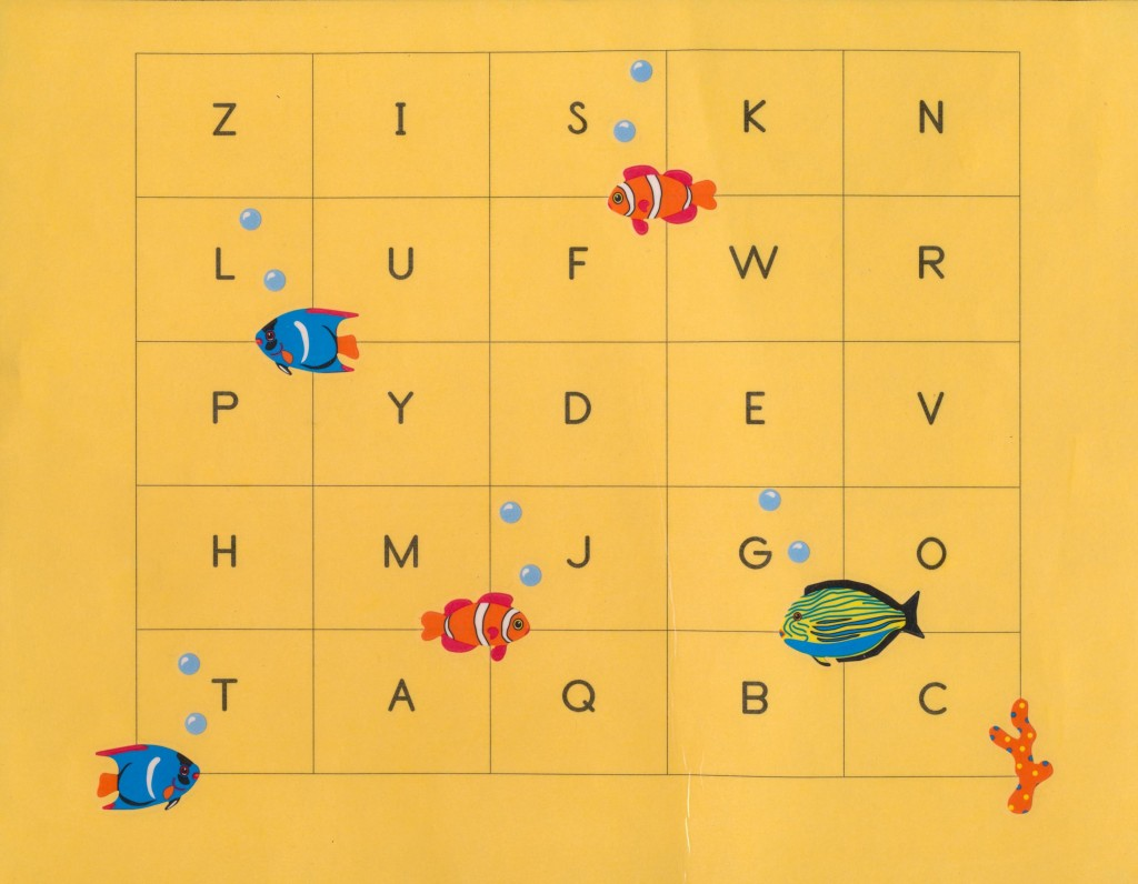 Upper And Lower Case Matching Game For Alphabet Learners