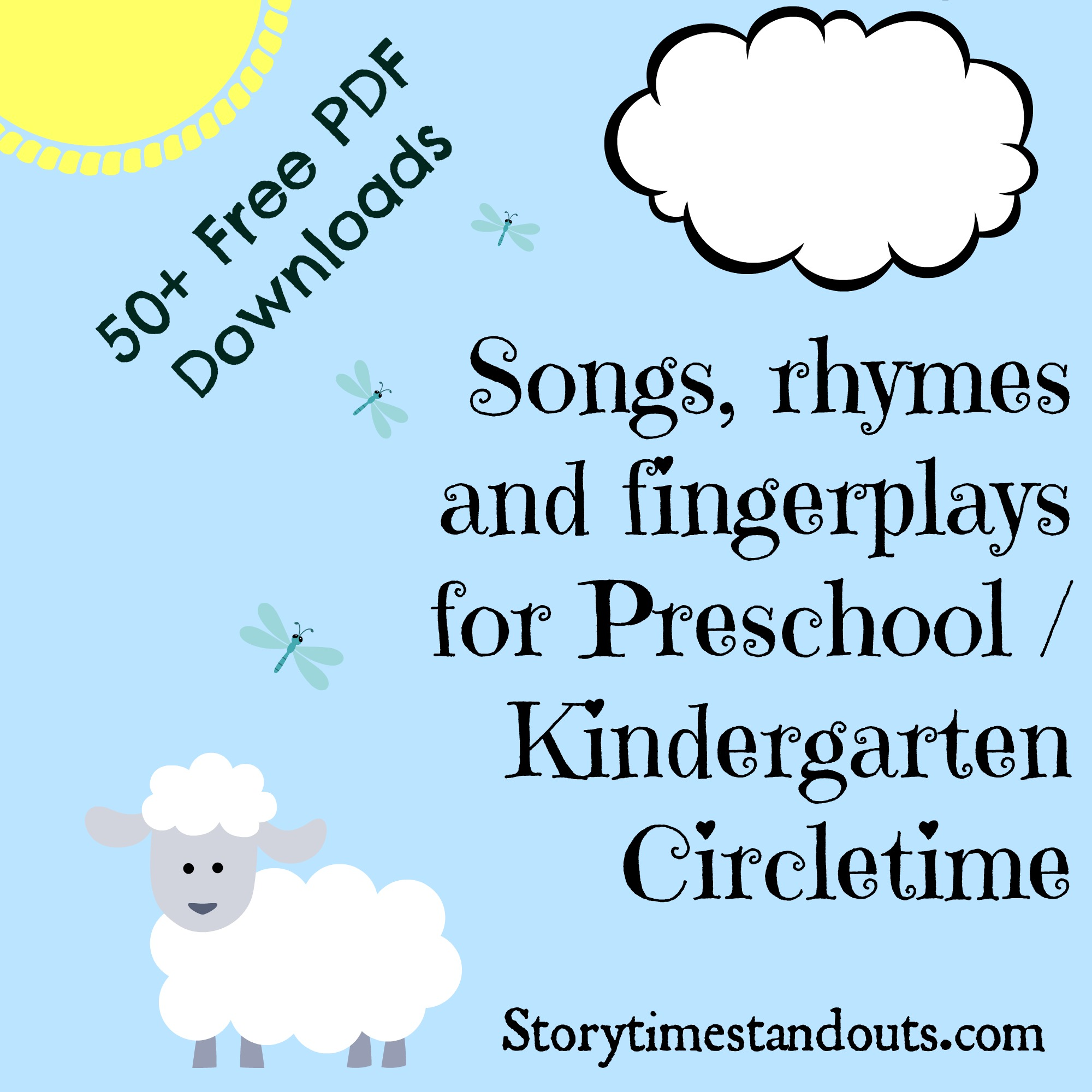 Free Printable Nursery Rhymes To Share With Young Children