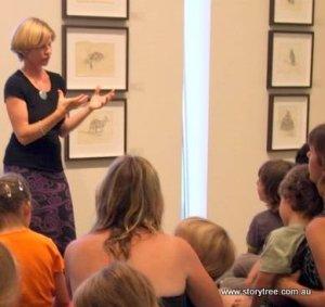 Jenni at Tweed River Art Gallery