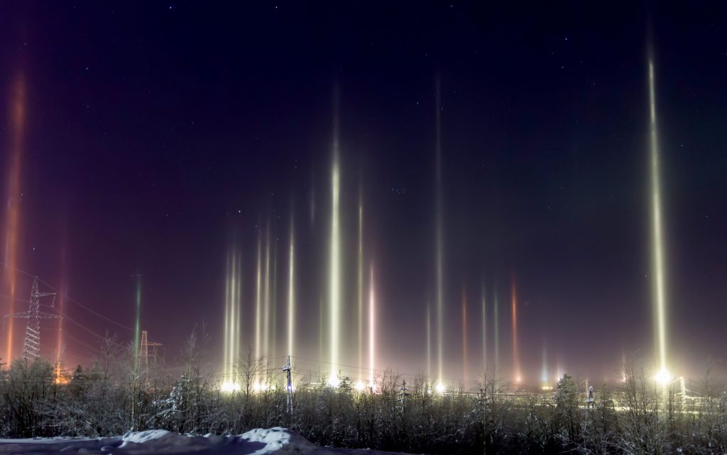 Image result for russia vertical auroras march 2019