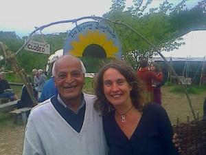 Satish Kumar and Steph Bradley