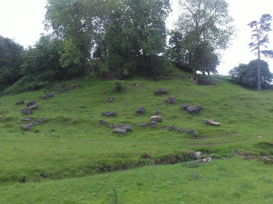 prehistoric site on the road from Caerleon