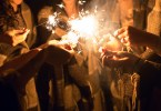 New Year's eve, sparklers, New Year's resolutions