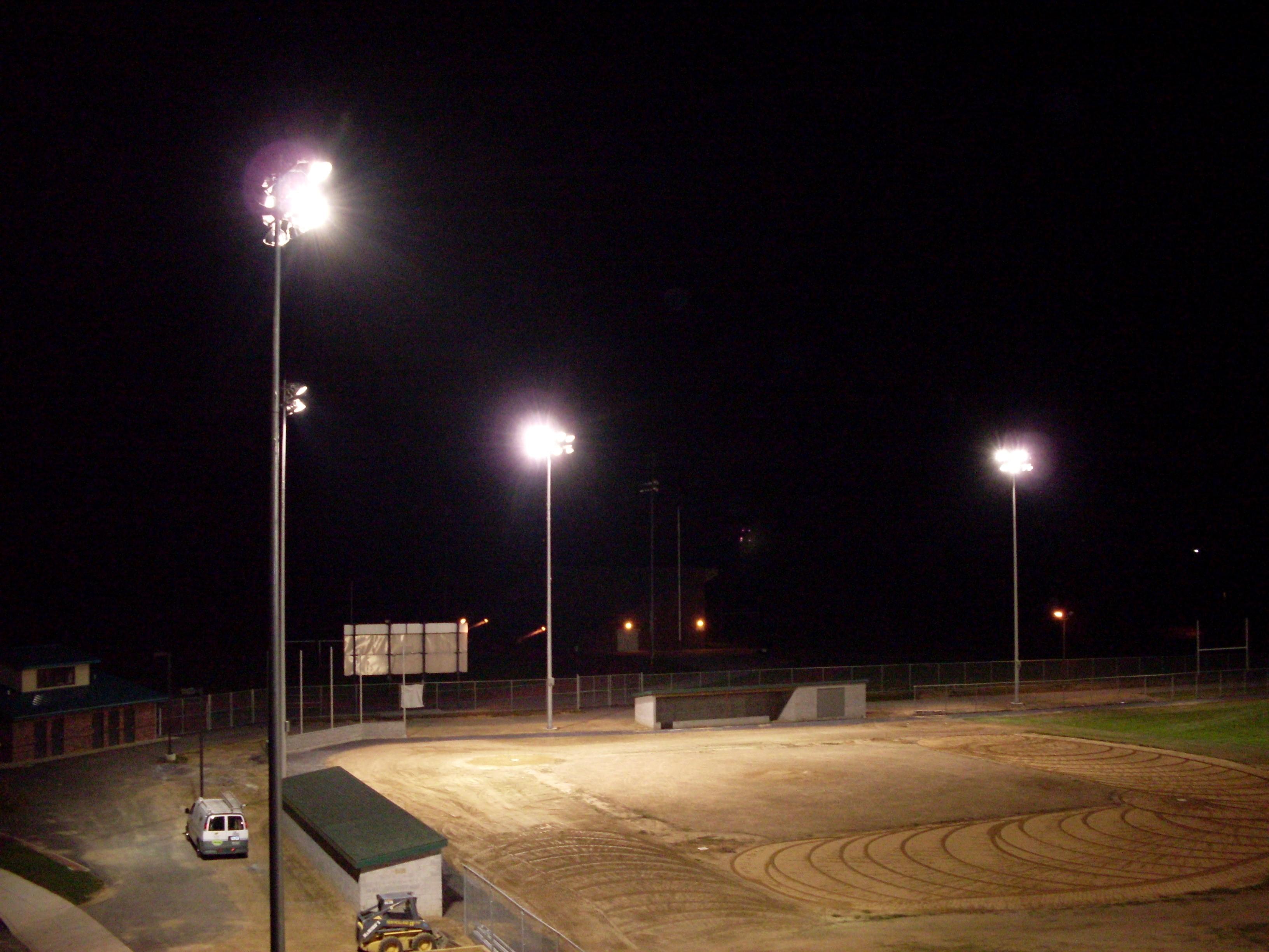 sports field lighting