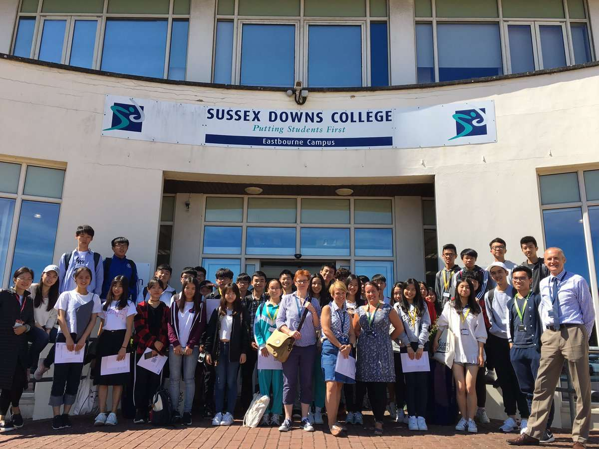 East Sussex College Eastbourne - 多比客遊學網