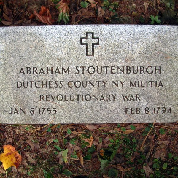 Abraham Stoutenburgh, Dutchess County, New York, Militia, Revolutionary War, January 8, 1755 - February 8, 1794