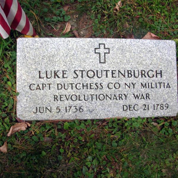 Luke Stoutenburgh, Captain, Dutchess County, New York, Militia, Revolutionary War, June 5, 1736 - December 21, 1789