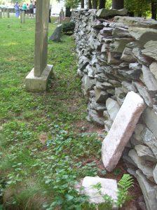 Stoutenburgh Burying Ground Stone Wall