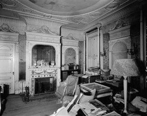 Wilderstein White and Gold Room