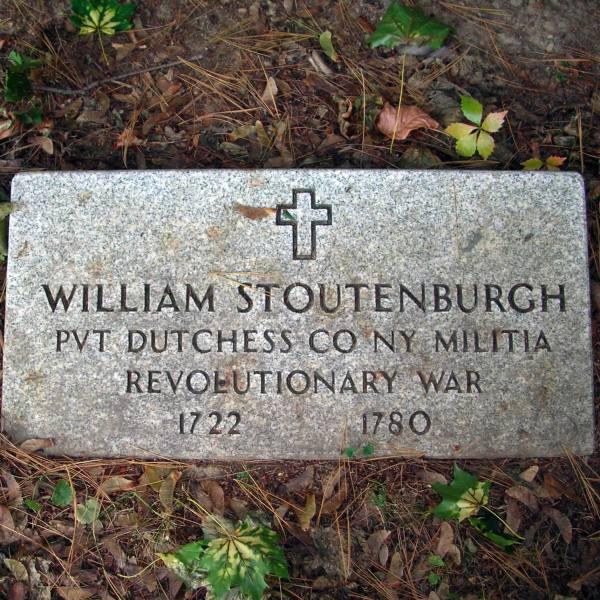 William Stoutenburgh, Private, Dutchess County, New York, Militia, Revolutionary War, 1722 - 1780