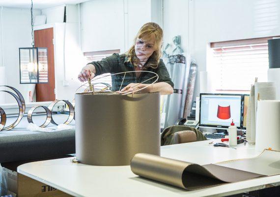 Atelier Danielle aan het werk Stout Verlichting