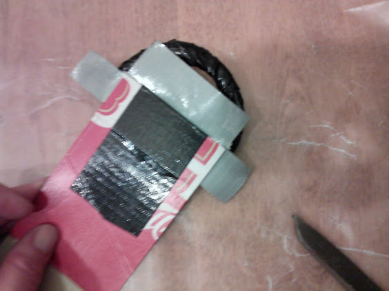 how to make a duct tape belt from cardboard stow tellu