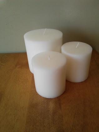 pillar candles