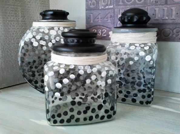 Ombre-dot-glass-canister-set2