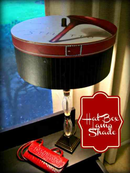 Hat Box Lamp Shade - StowandTellU.com