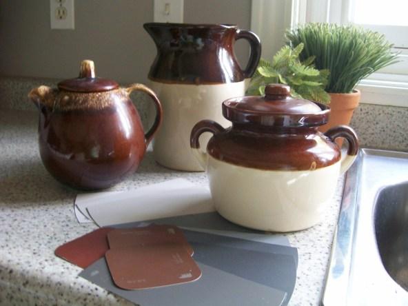 Pottery-inspiration - Kitchen update - pick your palette
