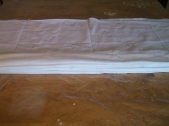 accordian fold cloth
