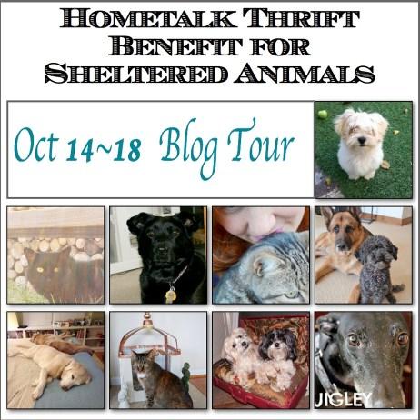 Hometalk Thrift Benefit Blog Tour