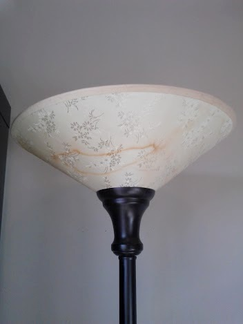 lamp shade before