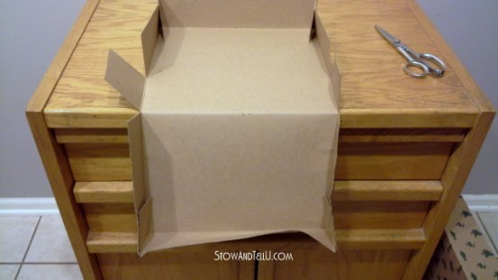 Turn a gift box into a storage box-StowandTellU