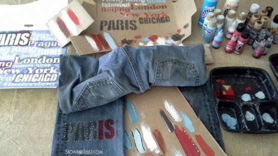 re-purposed blue jean hanging travel organizer-StowandtellU