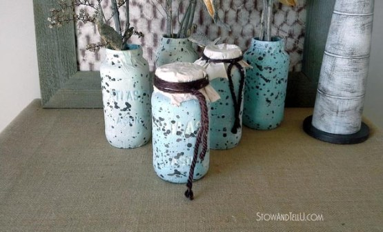 speckled-egg-testured-mason-jars-stowandtellu