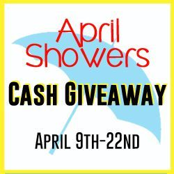April Showers Giveaway
