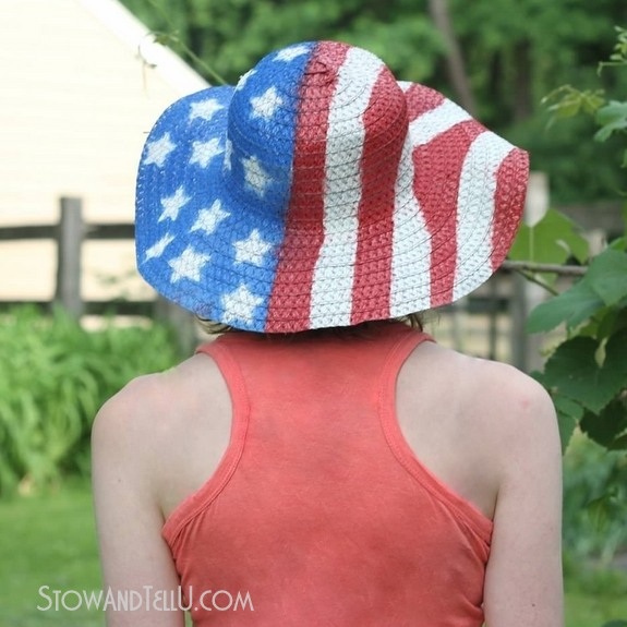 diy-patriotic-summer-straw-hat