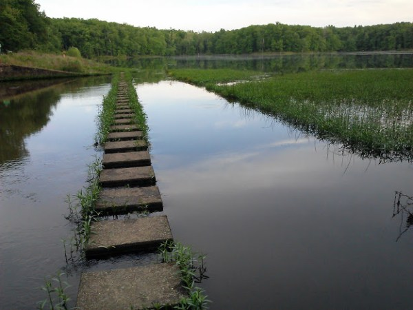 walking-path over-hematite-lake
