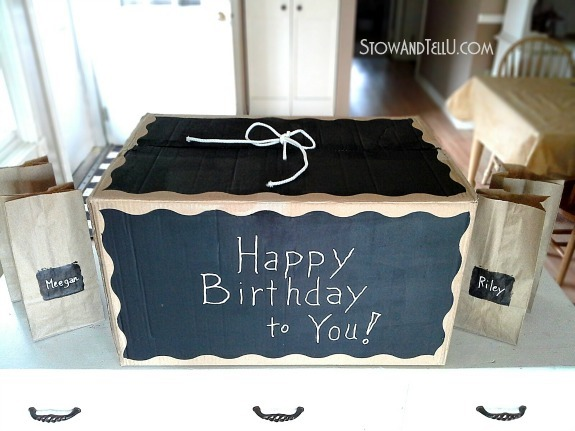chalkboard-painted-diy-gift-box