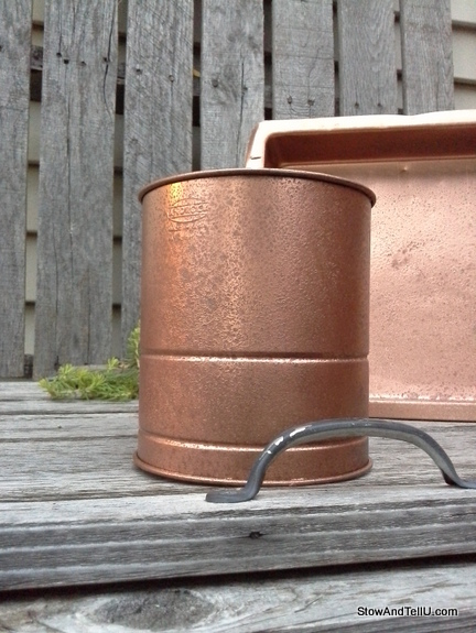 faux-hammered-copper, StowAndTellU.com
