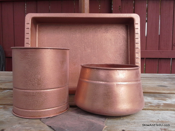faux-copper-spray-paint-technique, StowAndTellU.com