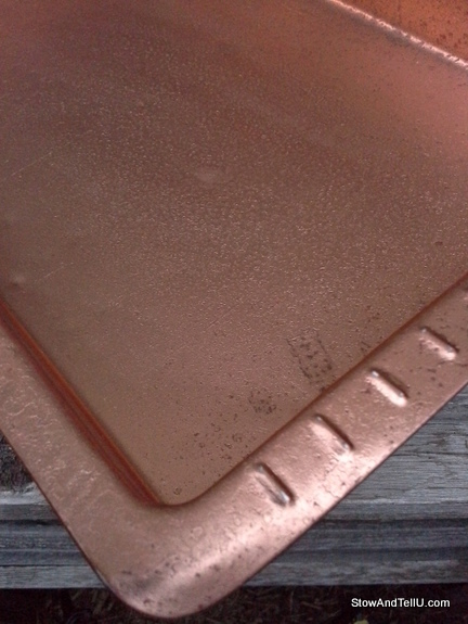 faux-copper, metallic, StowAndTellU.com