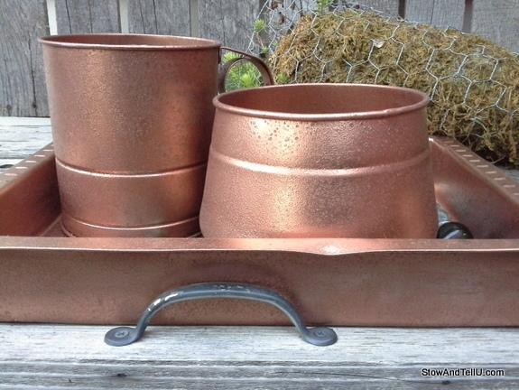 hammered-copper-paint-technique, StowAndTellU.com