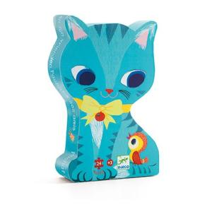 Shaped Puzzles-cat
