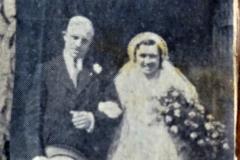 Press cutting of wedding