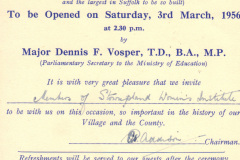 1956 invitation