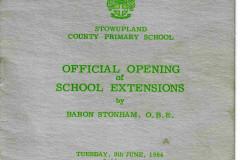 1964 school program