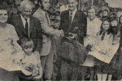 press cutting 1974-retirement