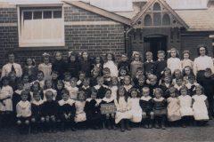photo 1913 school children