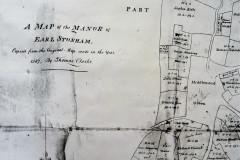 1587 map of Manor of Earl Stonham