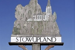 Stowupland  Village sign