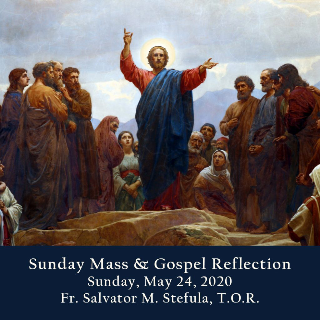 Sunday Mass And Gospel Reflection The Feast Of The