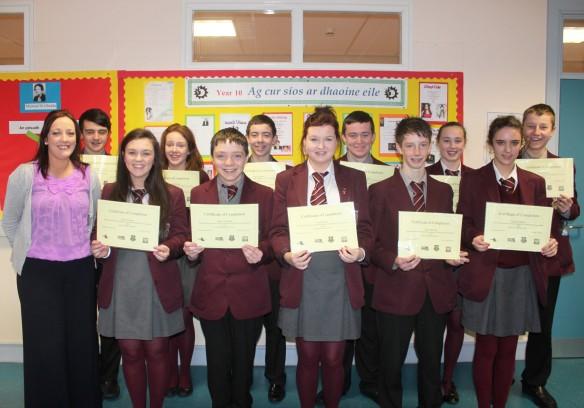 Online success for GCSE Irish students « St Paul's High School